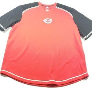 Genuine merchandise mens Cincinnati reds t shirt